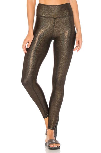 Body Language metallic bronze pants