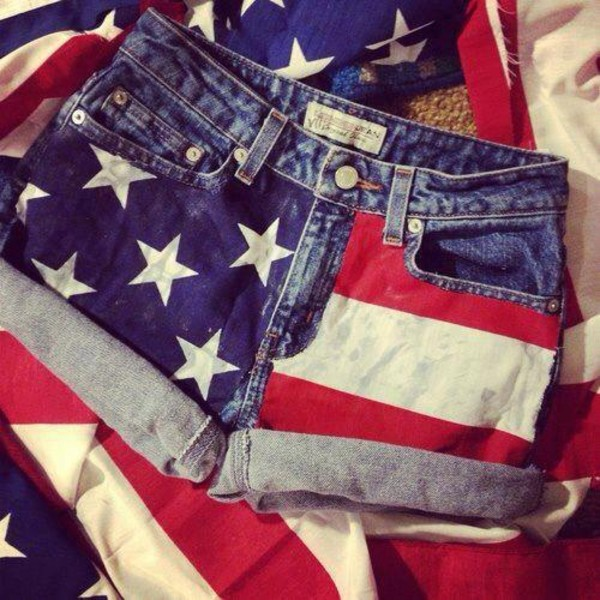 shorts usa american flag shorts american flag