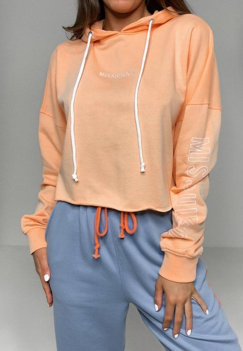 Orange Missguided Hoodie