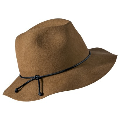 Mossimo Supply Co. Floppy Leather Tie Hat - Tan : Target