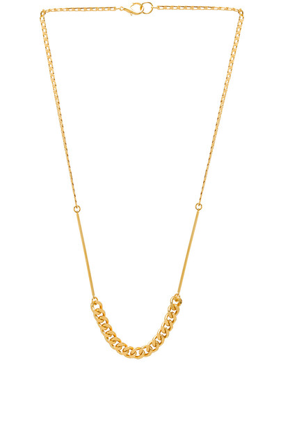 chain necklace necklace metallic gold jewels