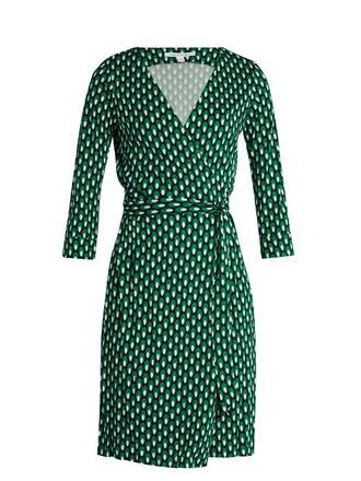 dress new print green