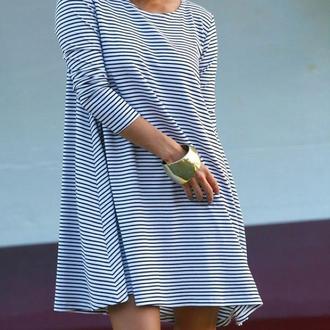dress blue white short cotton nautical pinterest comfy