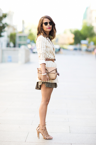 collage vintage jacket t-shirt shorts bag shoes belt jewels sunglasses