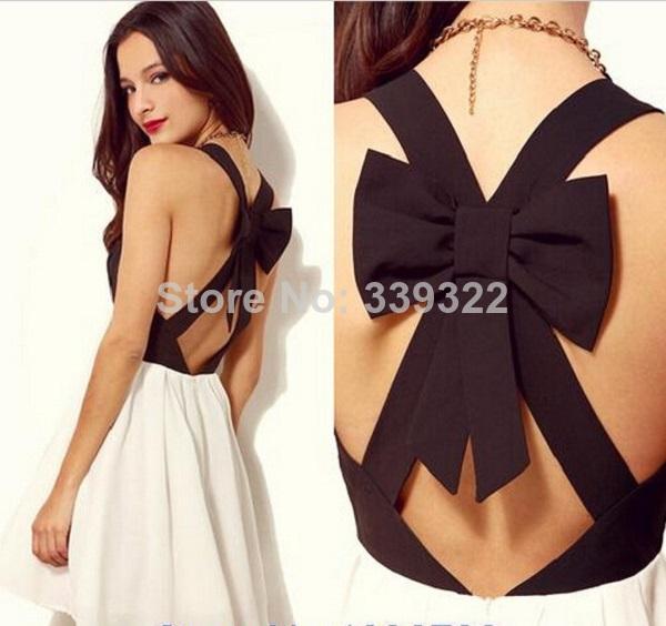 com : Buy Hot Sale New Summer Women 2014 Dress Fashion Sexy Bow ...