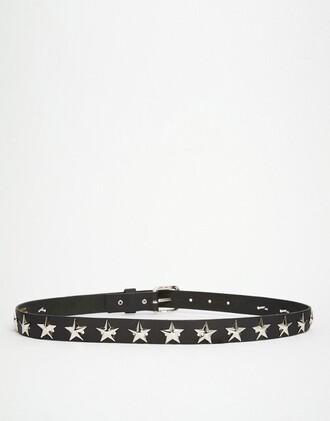 belt studded belt stars studs western belt