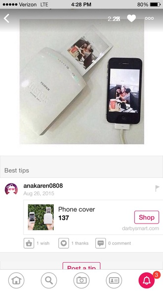 home accessory instagram white black now i need it now fujifilm instax mini 8 case asdfghjkl phone cover technology