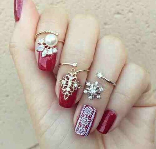 jewels nail accessories jewelry