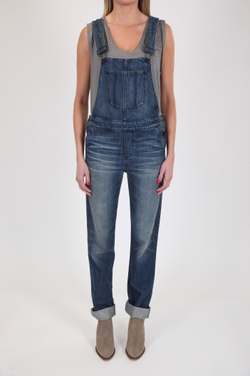 The Boyfriend Overall :: Black Orchid Denim