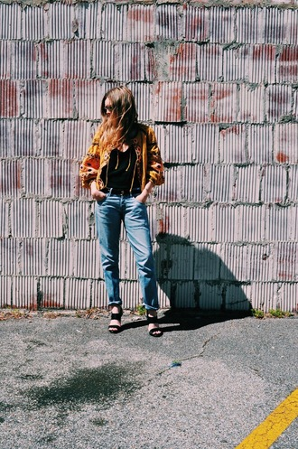 kirby joanna blogger jacket jeans shoes