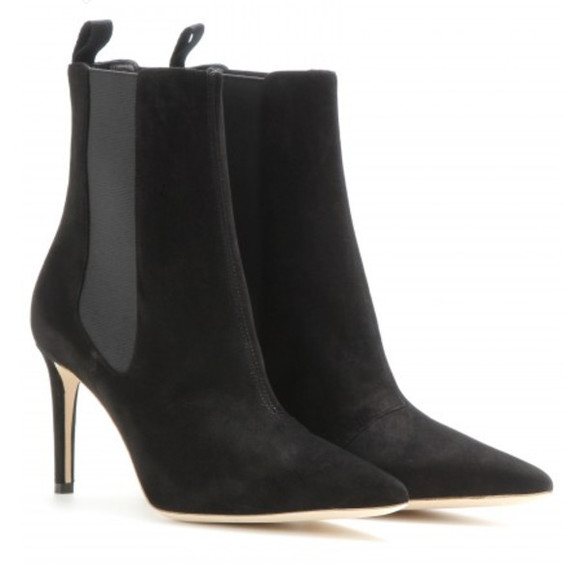 balenciaga black shoes boots