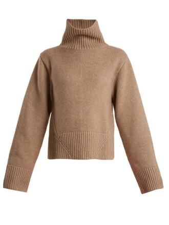 sweater high beige