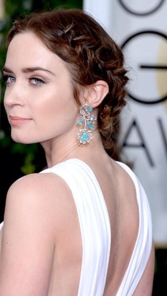 jewels hair hair up do