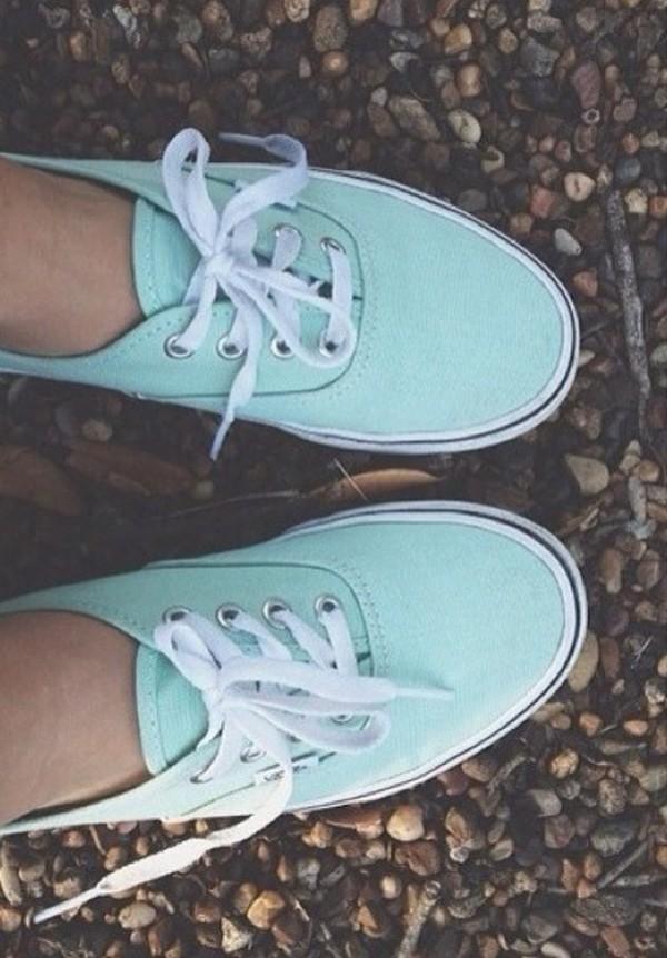 shoes tiffany blue vans