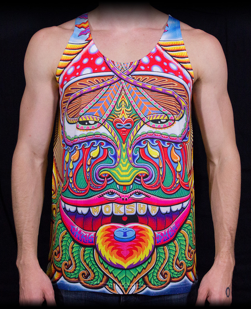 'Moksha Master' Tank by Chris Dyer | RaveNectar
