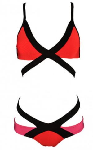Raw Glitter | Mina Bandage Bikini - More Colors, Sexy 2 Piece Bikini's | RawGlitter.com