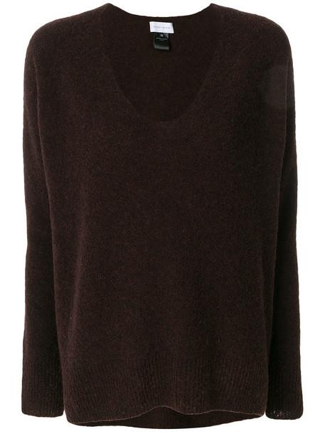 Christian Wijnants jumper women wool brown sweater