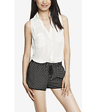 SLEEVELESS PORTOFINO SHIRT from EXPRESS
