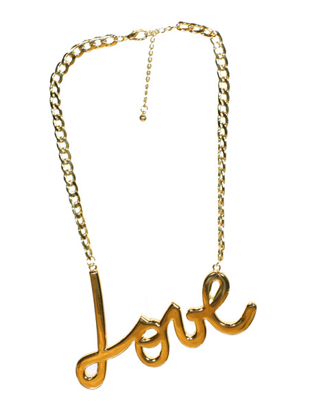 Oversized Love Necklace | Created by Fortune