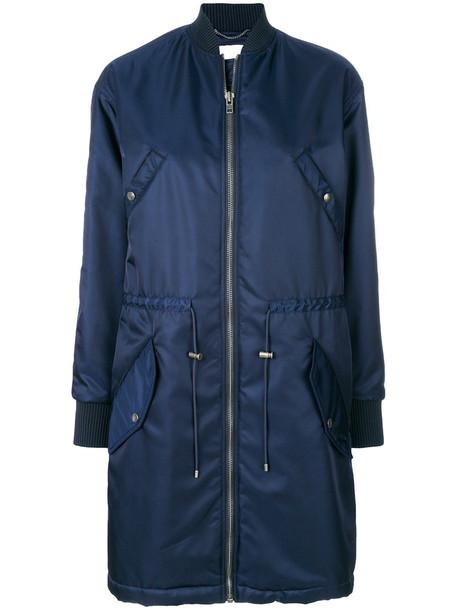 women cotton blue jacket