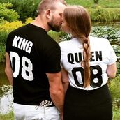 t-shirt,tees2peace,king and queen,king,