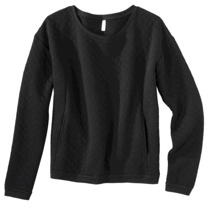 Xhilaration® Junior's Quilted Sweatshirt - A... : Target