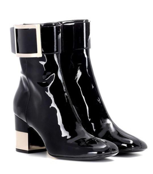 Roger Vivier boots ankle boots black shoes