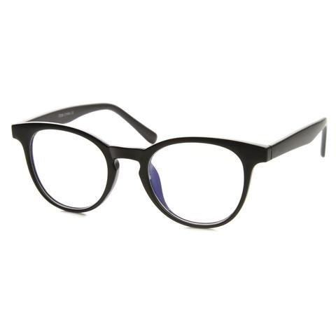 Dapper Indie Round Keyhole Fashion Clear Lens Glasses 8910                           | zeroUV