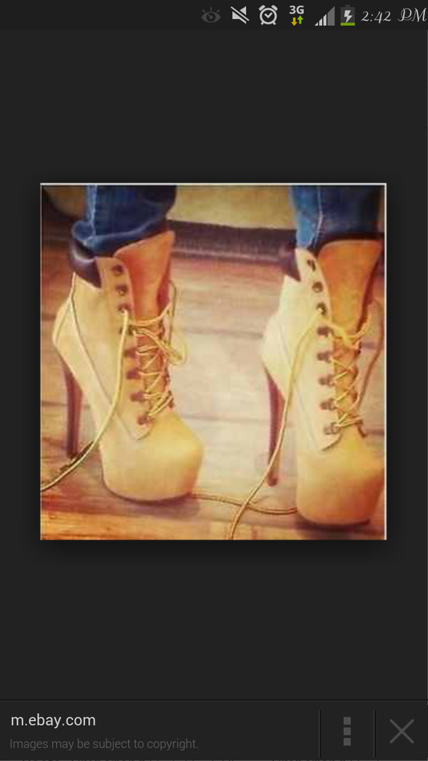 shoes timberlands stilettos boots