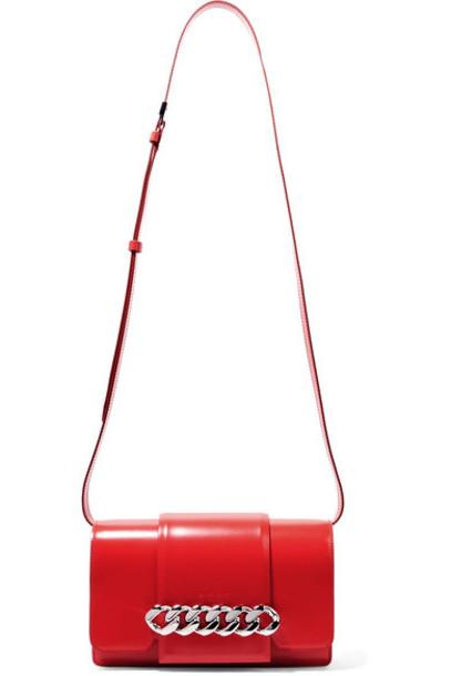 Givenchy infinity bag shoulder bag leather red