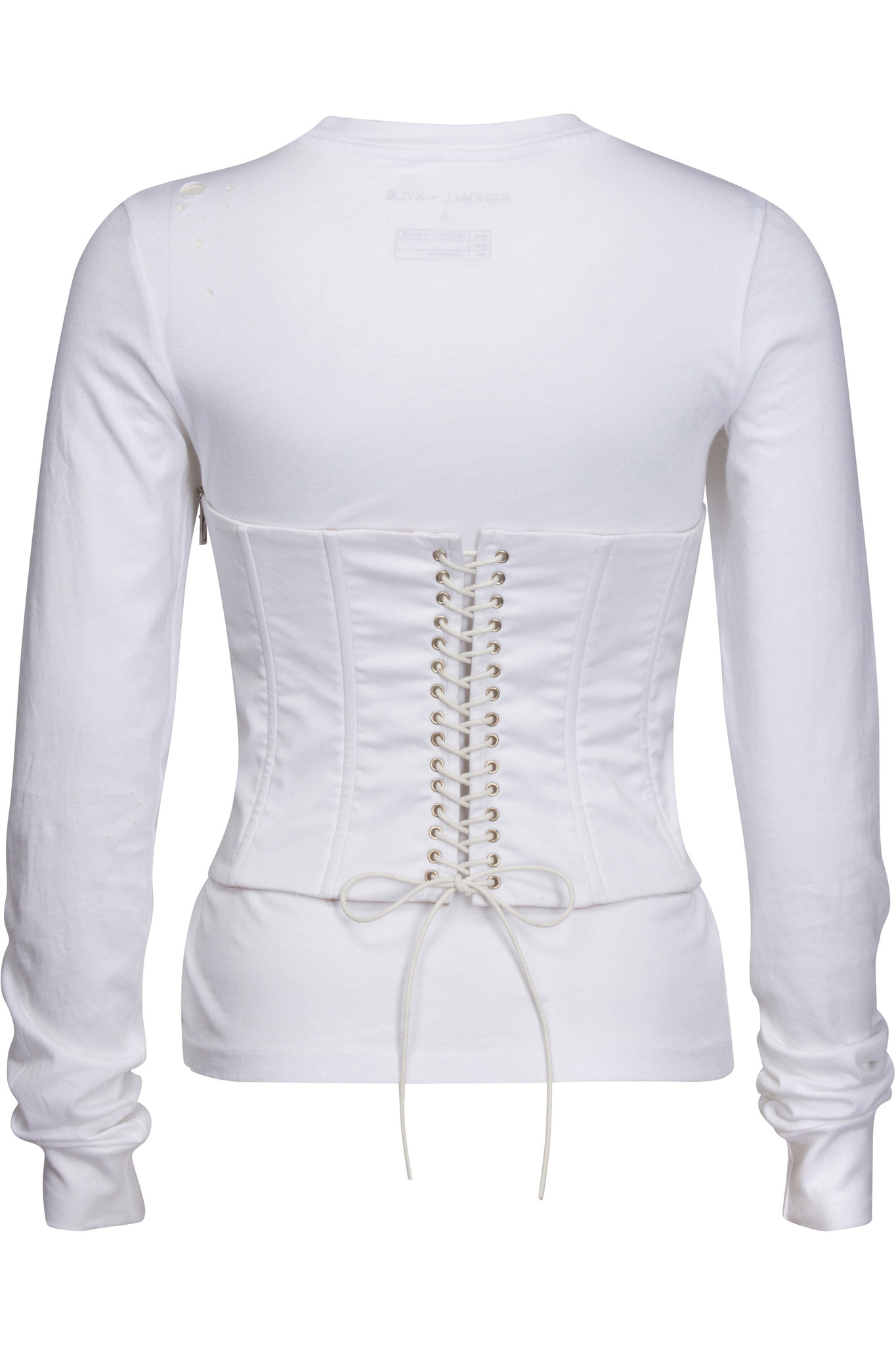 bdb67ff4ff LONG SLEEVE CORSET T-SHIRT