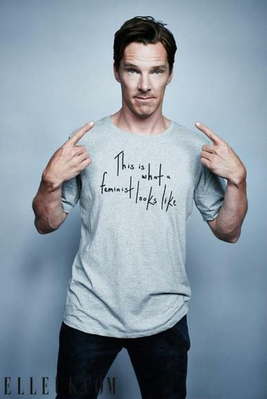 menswear grey t-shirt feminism feminist mens t-shirt