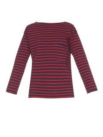 t-shirt shirt long navy top