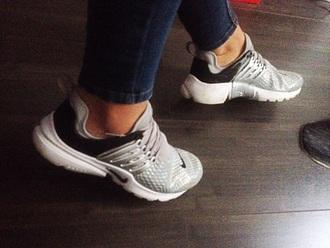 shoes nike nike air presto grey sneakers nike sneakers