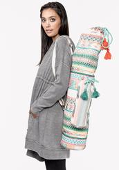 bag,yoga mat bag,yoga,embroidered bag,tapestry bag,namaste,yoga girl,yoga love,healthy living,lovestitch,shoplovestitch