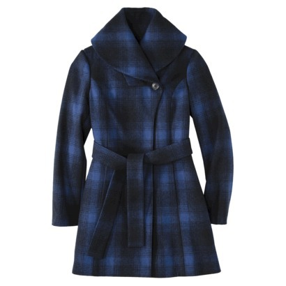 Merona® Women's Shawl Collar Coat -Athens Blue : Target
