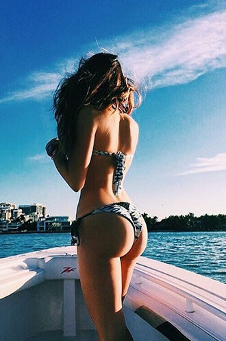 swimwear frankies bikini bikini bottoms bikini delivery blue print tie sides white
