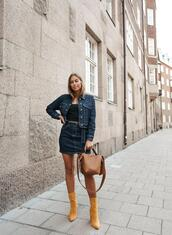 kenza,blogger,jacket,skirt,shoes,bag