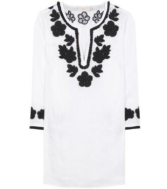 dress tunic dress white