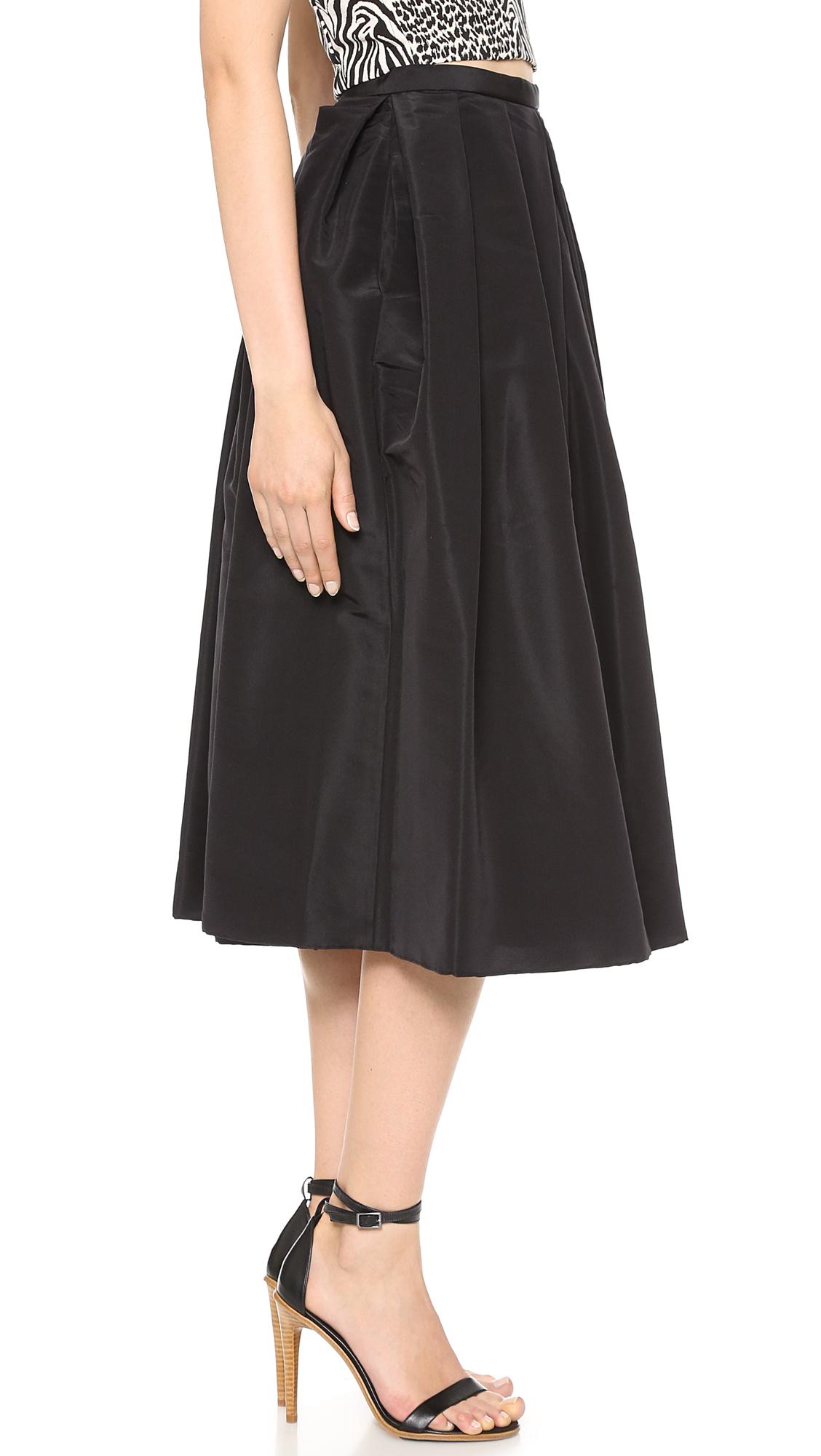 Tibi Silk Faille Skirt | SHOPBOP