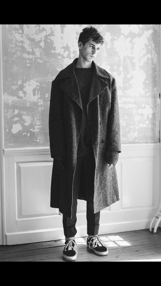 jacket blvck classy menswear hipster menswear mens coat winter outfits