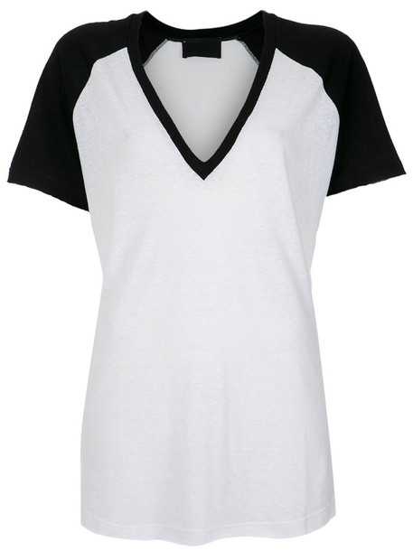 Andrea Bogosian blouse women white cotton top