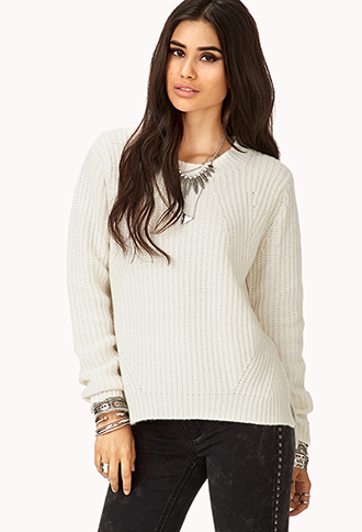 Fireside Cable Knit Sweater | FOREVER21 - 2000110915