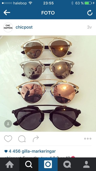 sunglasses silver gold fashion black rose gold mirrored sunglasses round sunglasses sunnies black sunglasses retro sunglasses accessories accessory trendy