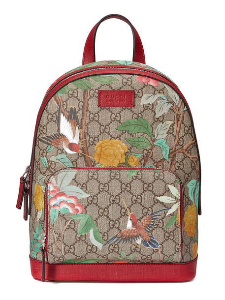 gucci women backpack leather nude bag
