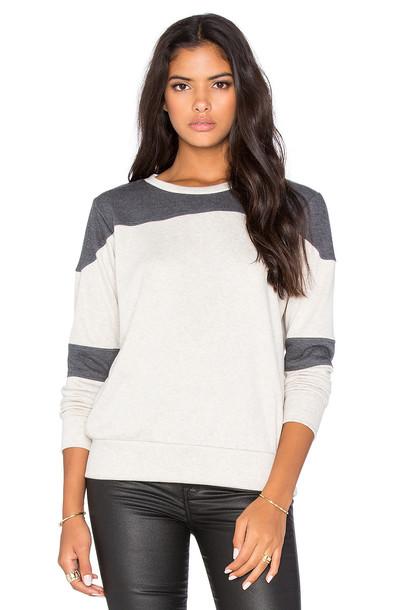 LnA sweatshirt football charcoal