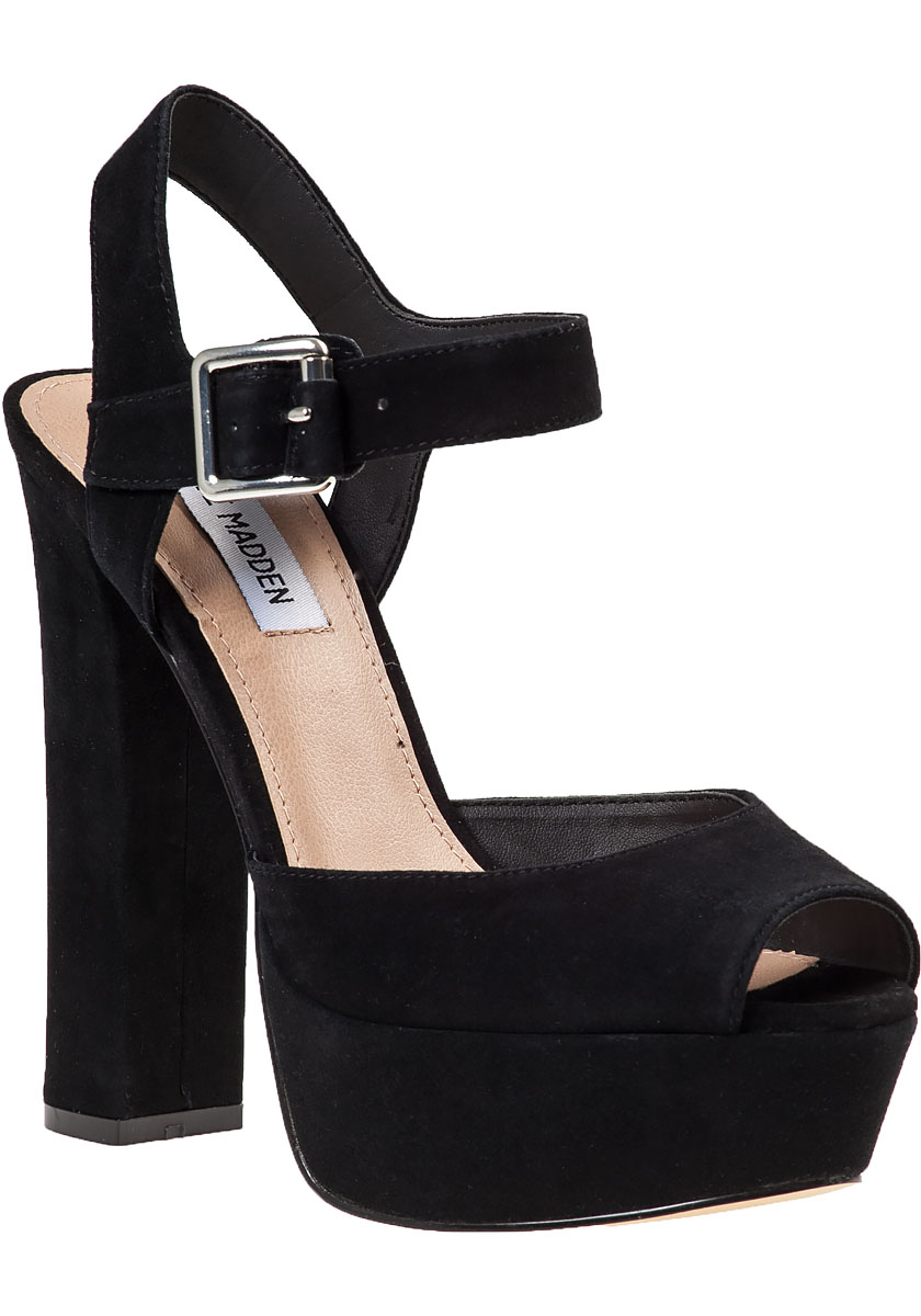 Find black suede platform sandal at ShopStyle. Shop the latest collection of black suede platform sandal from the most popular stores - all in one.