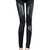 Leather Inset Leggings   Outfit Made