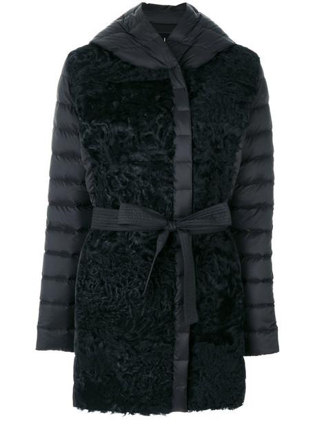 Cara Mila coat fur women black