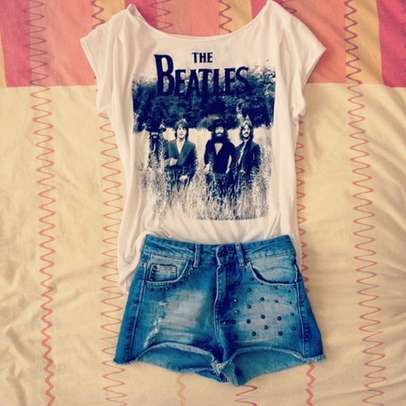 t shirt shirt the beatles